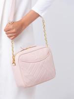 TORY BURCH Alexa Camera Bag Shell Pink