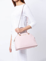 MICHAEL KORS Emmy Large Dome Zip Satchel Blossom