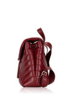 SAINT LAURENT Loulou Small Backpack Red