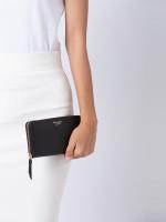 KATE SPADE Cameron Leather Zip Wallet Black