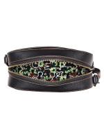 COACH 28648 Keith Haring Crazy Dog Camera Bag Black