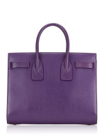 SAINT LAURENT Small Sac De Jour Purple