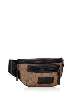 COACH Men 78727 Signature Terrain Belt Bag Tan