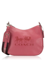 COACH 72702 Jes Leather Hobo Rouge