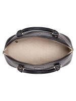 GUCCI Micro Guccissima Medium Dome Satchel Black