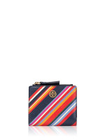 TORY BURCH Emerson Mini Wallet Vivid Stripe