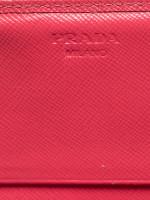 PRADA 1M1132 Saffiano Metal Wallet Peonia