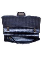 CHANEL 2.55 Reissue Metallic Calfskin Flap Bag Blue