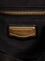MIU MIU Matelasse Lux Leather Coffer Bag Black