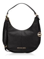 MICHAEL KORS Bedford Leather Large Convertible Shoulder Bag Black