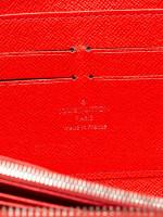 LOUIS VUITTON Epi Zippy Wallet Coquelicot