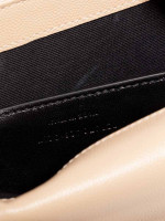 YSL Monogram Kate Classic Chain Shoulder Bag Beige