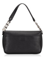 SALVATORE FERRAGAMO Gancio Small Shoulder Bag Black