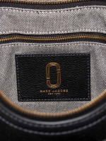 MARC JACOBS Interlock Leather Crossbody Bag Black