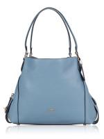 COACH 57125 Edie 31 Leather Shoulder Bag Slate