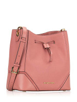 MICHAEL KORS Nicole Leather Large Bucket Bag Rose