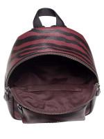 COACH 37880 Tiger Mini Charlie Backpack Dark red