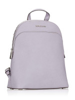 MICHAEL KORS Emmy Saffiano Large Backpack Lilac