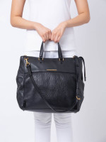 MARC BY MARC JACOBS M3134010 Leather Tote Black