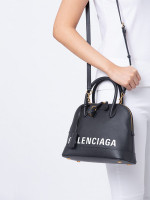 BALENCIAGA Ville Small Top Handle Satchel Black