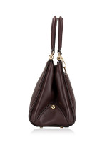 COACH 22728 Quilted Leather Grace Bag Oxblood