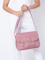 LONGCHAMP Club Nylon Messenger Antique Pink