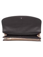 COACH 38713 Metallic Signature Slim Envelope Wallet Platinum
