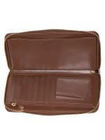 COACH 73418 Signature Large Phone Wallet Khaki Saddle