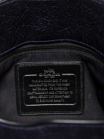 COACH 37779 Grain Mercer 24 Leather Satchel Navy