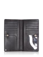 KATE SPADE Cameron Large Slim Bifold Wallet Black Warm Beige