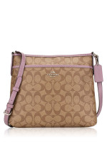 COACH 29210 Signature File Crossbody Khaki Jasmine