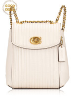 COACH 52996 Parker Convertible Backpack 16 Off White