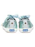KEDS X Kate Spade Champion Glitter Dusty Blue Sz 6.5