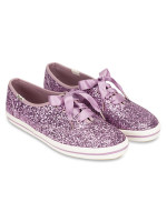 KEDS X Kate Spade Champion Glitter Grape Sz 7.5