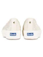 KEDS X Kate Spade Triple Decker Glitter Cream Sz 7.5