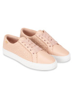 TORY BURCH Marion Quilted Lace Up Sneaker Sachet Pink Sz 9