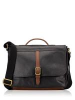 FOSSIL Men SBG1212001 Evan Commuter Bag Black