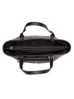 MICHAEL KORS Jet Set Saffiano Medium Pocket Tote Black