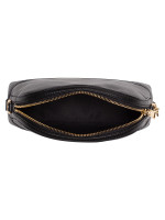 COACH 76673 Leather Mini Dome Crossbody Black