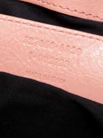 BALENCIAGA Giant 12 Silver Bowling Bag Rose Bonbon