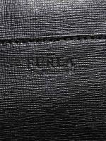 FURLA Saffiano Large Bifold Clutch Black