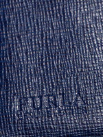 FURLA Babylon Medium Trifold Wallet Navy