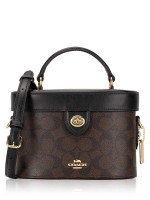 COACH 78277 Signature Kay Crossbody Brown Black