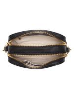 AIGNER Adeline Leather Camera Crossbody Black
