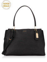 COACH 29422 Madison Saffiano Large Christie Carryall Black