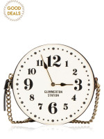 KATE SPADE New Street Micha Clock Black White