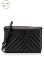 TORY BURCH Alexa Combo Crossbody Black