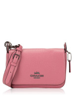 COACH 76698 Jess Leather Small Messenger Pink Rose