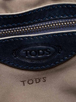TOD'S G-Line Coated Canvas Dark Blue