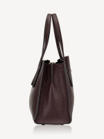 COACH 29529 Pebble Leather Charlie Carryall Brown